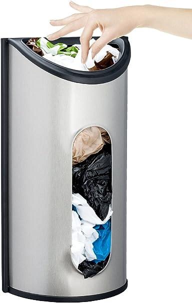 1pc Plastic Bag Holder Grocery Bag Dispenser Hanging Storage Bag Garbage Bag Organizer Garbage Bags Holders Racks for Kitchen random Color