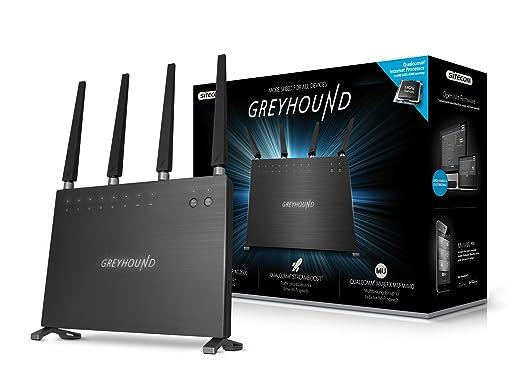 2 opinioni per Sitecom Greyhound AC2600 Router Wi-Fi DB, Nero/Antracite
