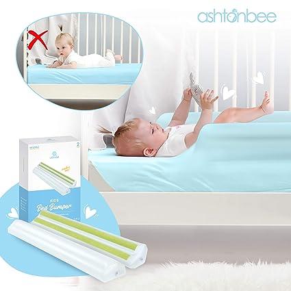 Amazon.com: Barra de cama portátil para niños – parachoques ...