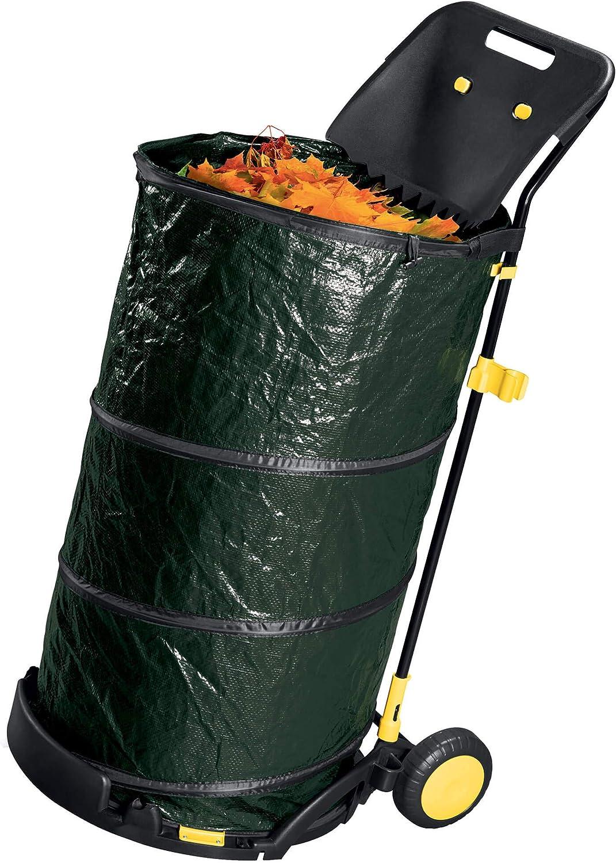 ranieri Carrito Recoge Hojas de Acero 150 L Verde: Amazon.es: Jardín