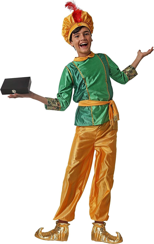 Costumizate! Disfraz de PAJE Verde para niño Talla 10-12 Especial ...