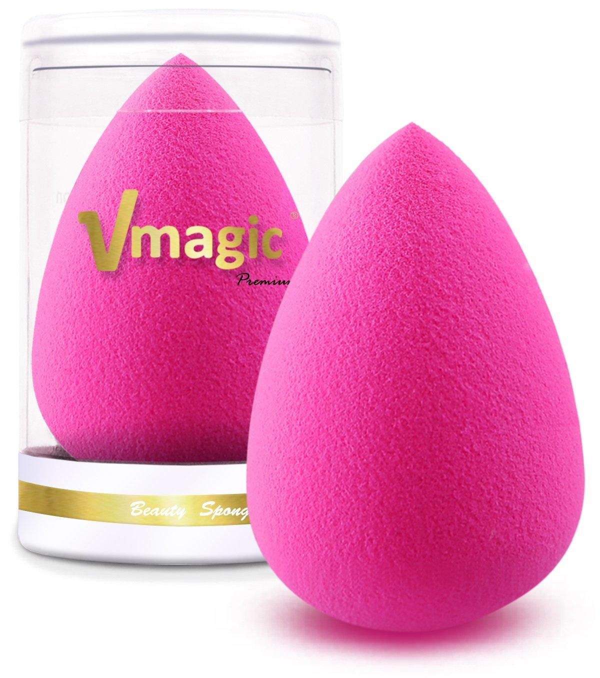 VMagic Premium, spugnette per il make-up professionale; applicatore impeccabile per dare colore al viso con il fondotinta VMAGIC-0708