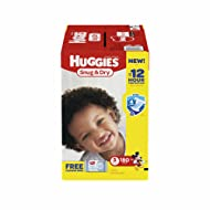 Product of Huggies Snug & Dry Size 5 Diapers, 180 ct. (diapers - Wholesale Price - Disposable Diapers [Bulk Savings]