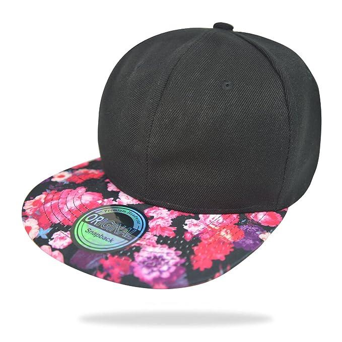 Glamexx24 Gorra de sombrilla de Mujer Unisex Basecap Gorra de béisbol NY Chicago Peace Gorra de Hombre: Amazon.es: Ropa y accesorios