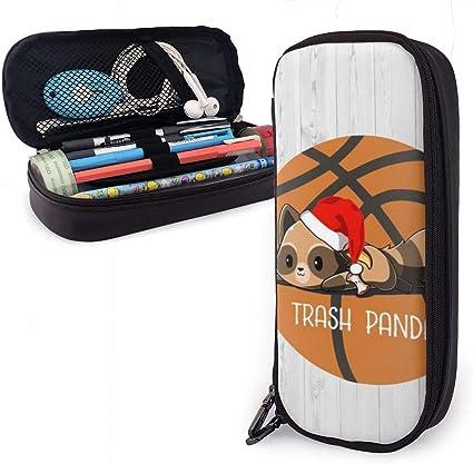 Estuche de madera para lápices de baloncesto para niños y niñas, estuche grande para bolígrafos, para estudiantes, universidad, suministros escolares y oficina: Amazon.es: Oficina y papelería