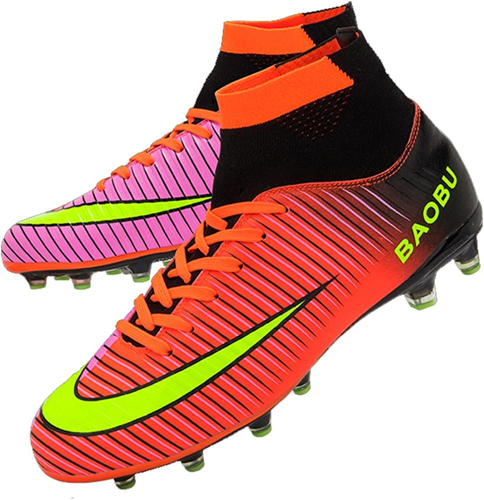 Homme Football Chaussures Ag De Spike Crampons edxorWCB