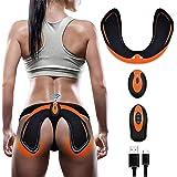 SHENGMI ABS Stimulator Hips Trainer,EMS Backside Hip Trainer,Smart Wearable Buttock Toner Trainer for Men Women