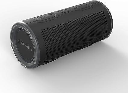 Braven BRV-8 - Waterproof Portable Speaker - Bluetooth Wireless  Technology - 8 Degree Speaker - Black