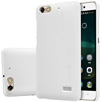 ELTD Honor 4C / Huawei G Play mini Funda, Slim Matte Series funda carcasa case para Honor 4C / Huawei G Play mini + 1 protector pantalla, Blanco