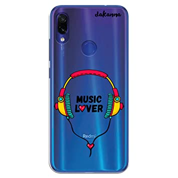 dakanna Funda para Xiaomi Redmi Note 7 | Auriculares con ...