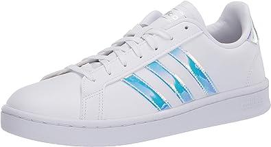 adidas grand court k iridescent