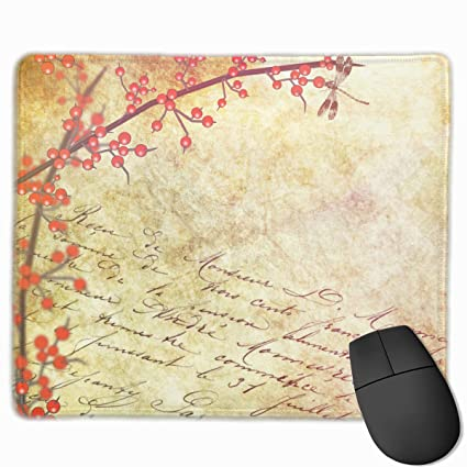 Amazon com : Gaming Mouse Pad- Fashion Vintage Floral and