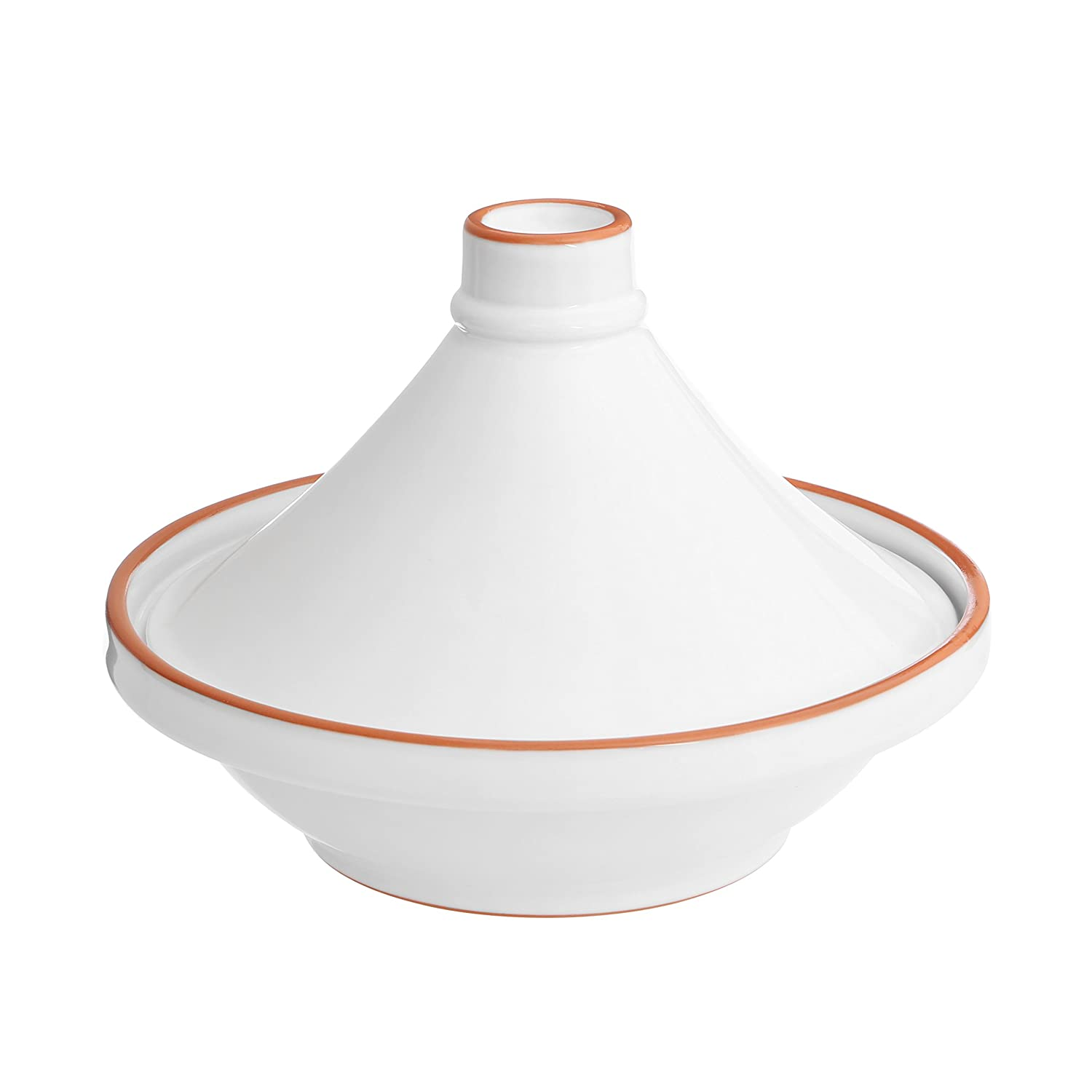 Premier Housewares Calisto Tagine, Ceramic, White, 1.5 Litre 0722851