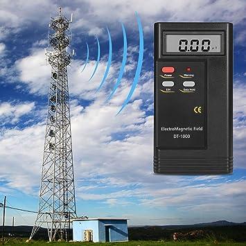 DT-1000 Detector de radiación de campo electromagnético profesional Medidor de LCD digital Multímetro Meter Wide Test Band Tester negro: Amazon.es: Coche y ...