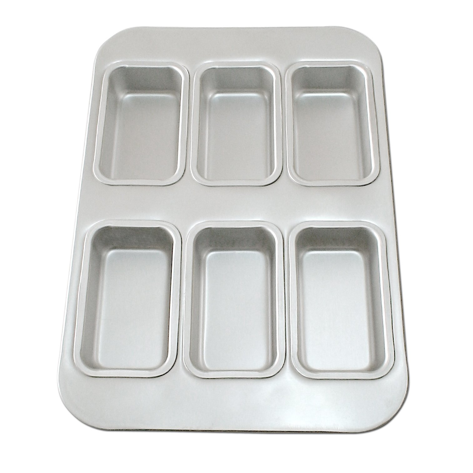 Fat Daddio's Linked Loaf Pan Frame, 4-7/8-Inch by 2-3/4-Inch by 2-Inch