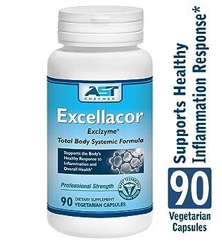 Amazon.com: excellacor – 90 Cápsulas vegetarianas – PREMIUM ...