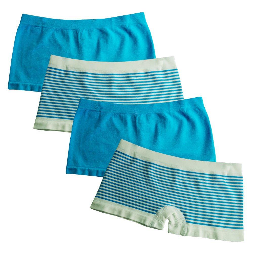 FEM Girl Seamless Girl Panties Boy Shorts 2 Pack or 4 Pack