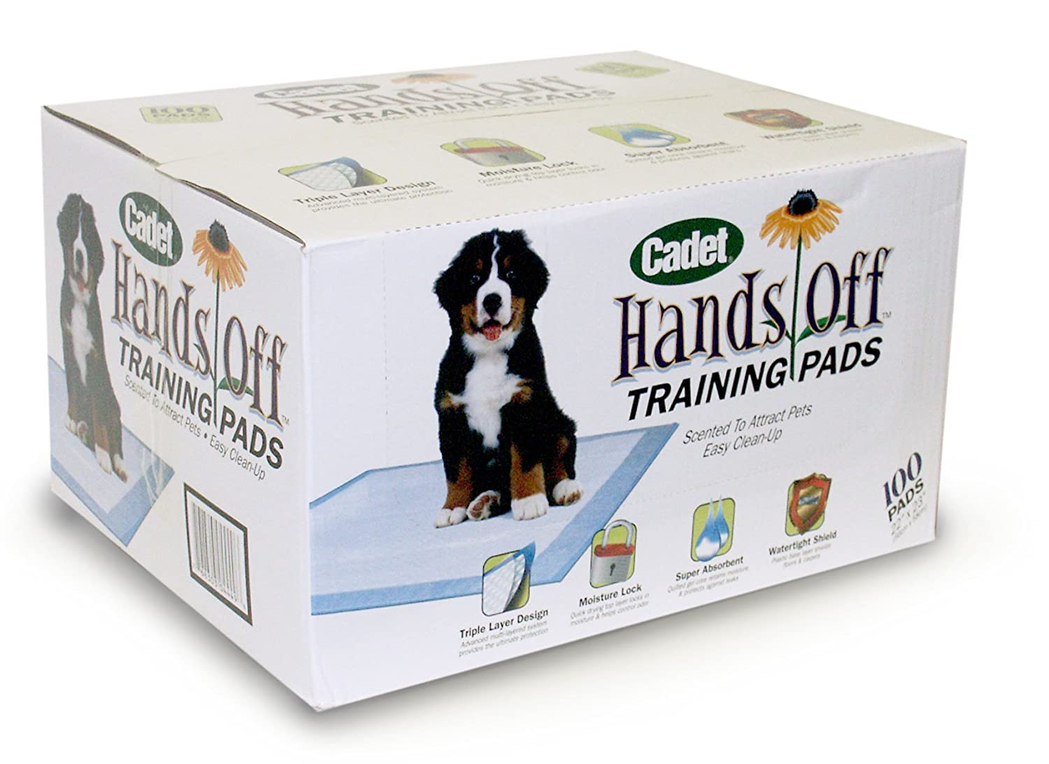Cadet Training Pads For Dogs, 100 Count