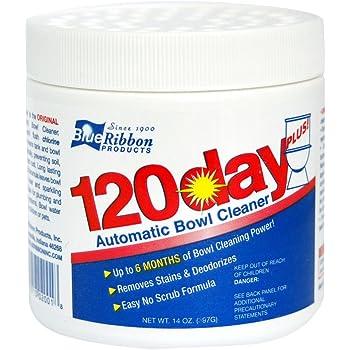 Amazon Com Blue Ribbon 120 Day Plus Toilet Bowl Cleaner