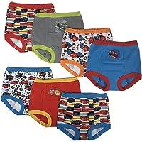 Disney Boys BTP6535 Cars 7 Pack Training Pants Training Underwear - Multi