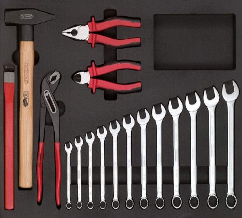 KS Tools 815.0172 Pack Llaves y alicates, 16-pieces, Set: Amazon.es: Bricolaje y herramientas