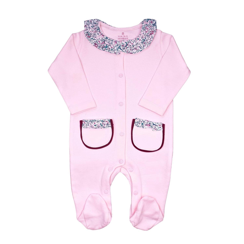 Bebetto Baby Body Kleidung M/ÄDCHEN Strampler Overall NEUGEBORENEN Jumpsuit Einteiler