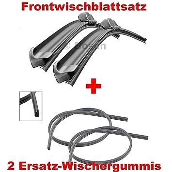Bosch Aerotwin AR605S 3397007504 Limpiaparabrisas 600/350 + 2 x Gelan para limpiaparabrisas, –