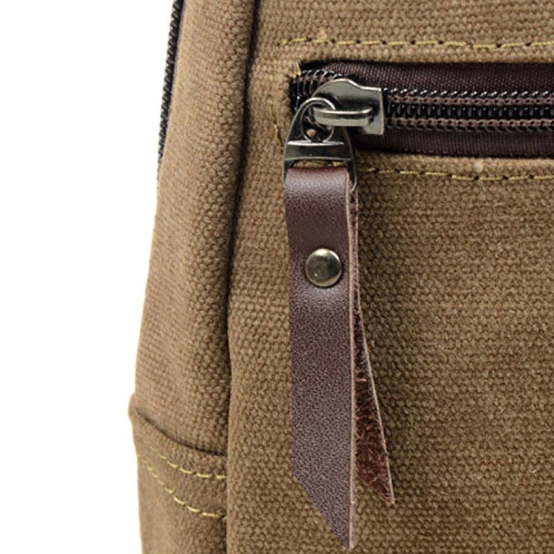 Amazon.com: Bolso bandolera para hombre Faionny, M: Clothing