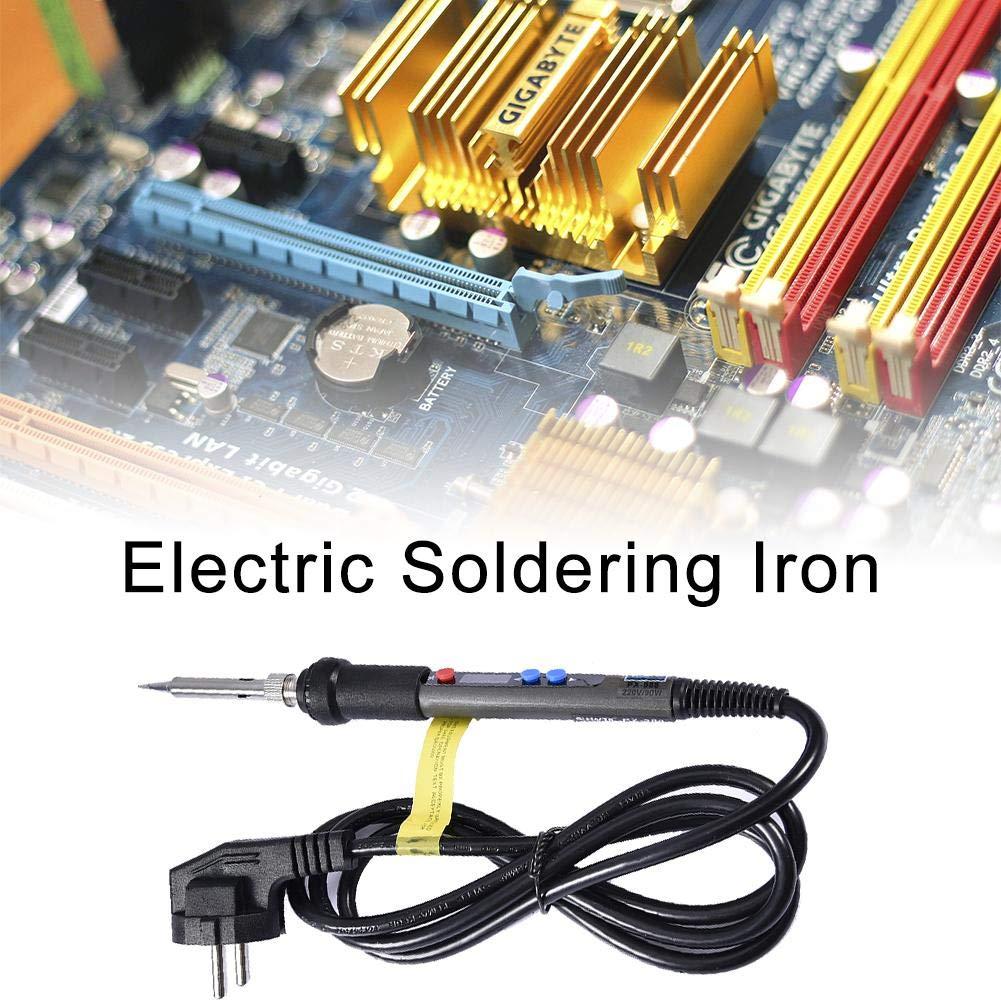 mini outil de soudure Ensemble de fer /à souder gaeruite thermostat de fer /à souder /électrique LCD num/érique r/églable