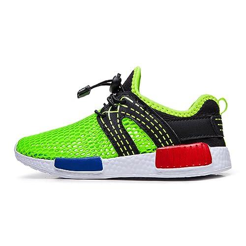 Zapatos de Agua de natación Niños Sandalias de niños Descalzo Aqua Calcetines para la Piscina de Playa Surf Yoga Unisex(Verde,32 EU: Amazon.es: Zapatos y ...