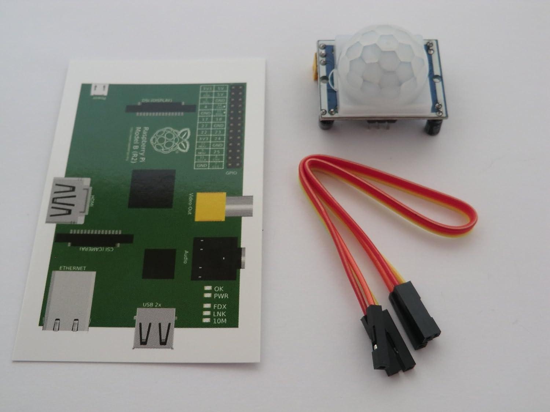 TR Computers HC-SR501 PIR Módulo de alarma de detección de ...