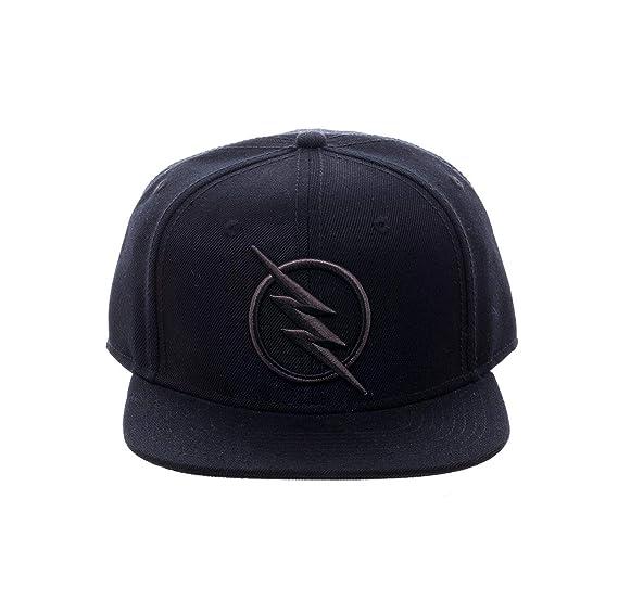 8e87d4af6 The Flash Reverse Flash Logo Snapback Cap black