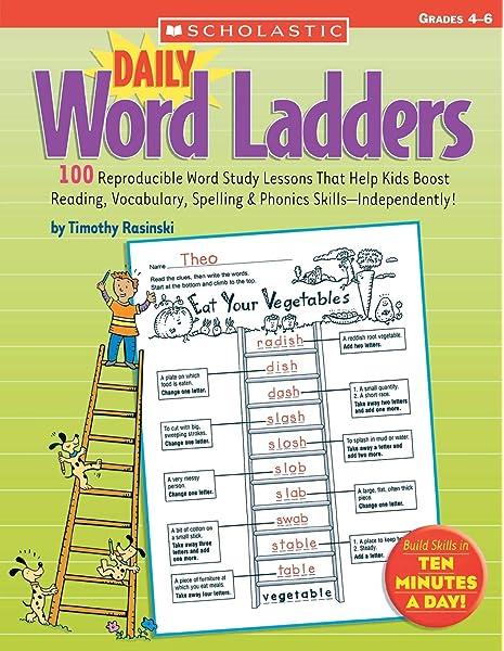 Daily Word Ladders Grades 2-3: Timothy Rasinski: Amazon com