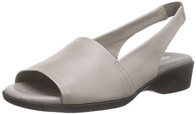 7ff6b0c4aae4d2 Aerosoles Cush Flow, Women's Open Toe Sandals, Grey (Oyster), 7 UK ...