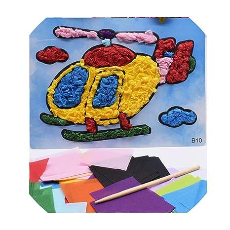 12 Pattern Diy Crafts Toys Children Kindergarten Handicraft