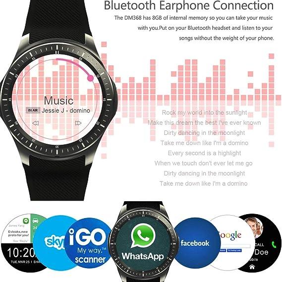 QUANOVO Smart Watch Fitness Tracker Reloj Inteligente táctil ...