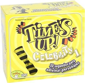 Asmodee - Times Up! Celebrity 1, Juego de Mesa (Repos TUP01ES): Amazon.es: Juguetes y juegos