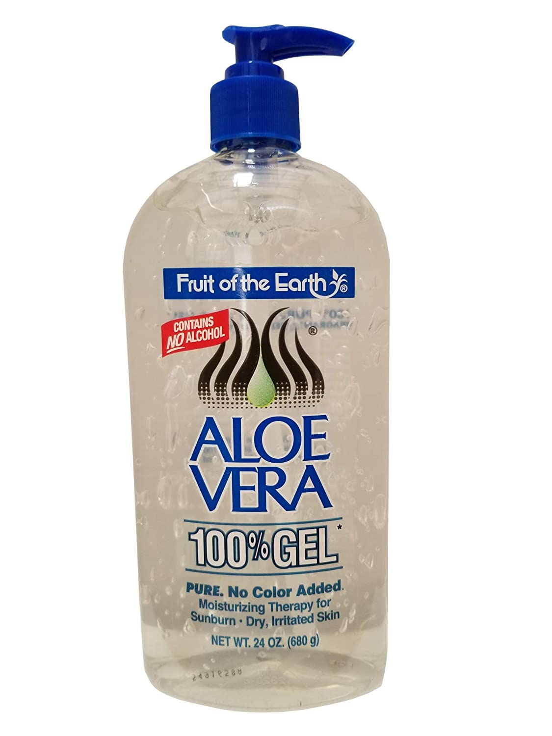 Fruit Of The Earth Aloe Vera 24oz Gel Pump (2 pack)