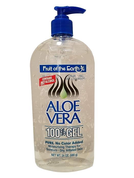 Fruit Of The Earth Aloe Vera 24oz Gel Pump (2 pack)