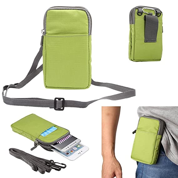 61578838d832 Universal Crossbody Cell Phone Purse Waist Pack Bag For Outdoor Sports  Moblie Phone Carrying Cases Shoulder Belt Bag Pouch for iPhone 7 6/6S Plus  ...