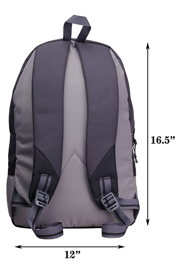 F Gear Burner 26 Liters Casual Backpack(Grey Black)
