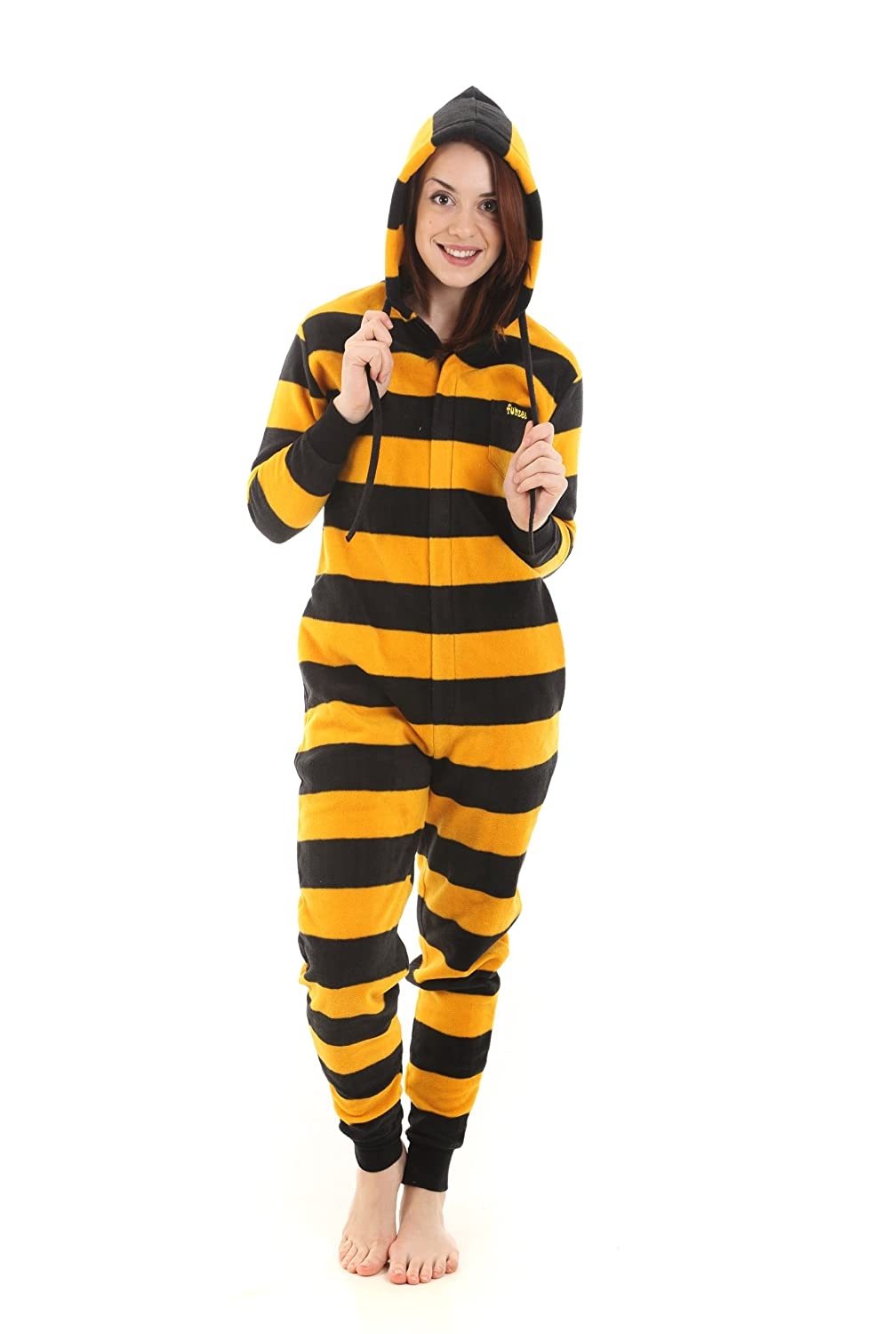 funzee Bumble Onesie, Sleepsuit Babygrow or Romper. Allinone Pyjamas or Jumpsuit. Sizes XS-XXL (Size by height)