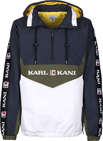 Kani Block Transition Retro Blau Übergangsjacken Karl Herren tBrdhCsQox