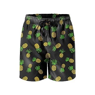 KkdsKkds Jean-Michel Basquiat Mens Summer Beach Surf Board Shorts Swimming Trunks Casual Short Pants