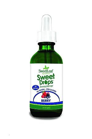 90c32c6e8d SweetLeaf Sweet Drops Liquid Stevia Sweetener, Berry, 2 oz: Amazon ...