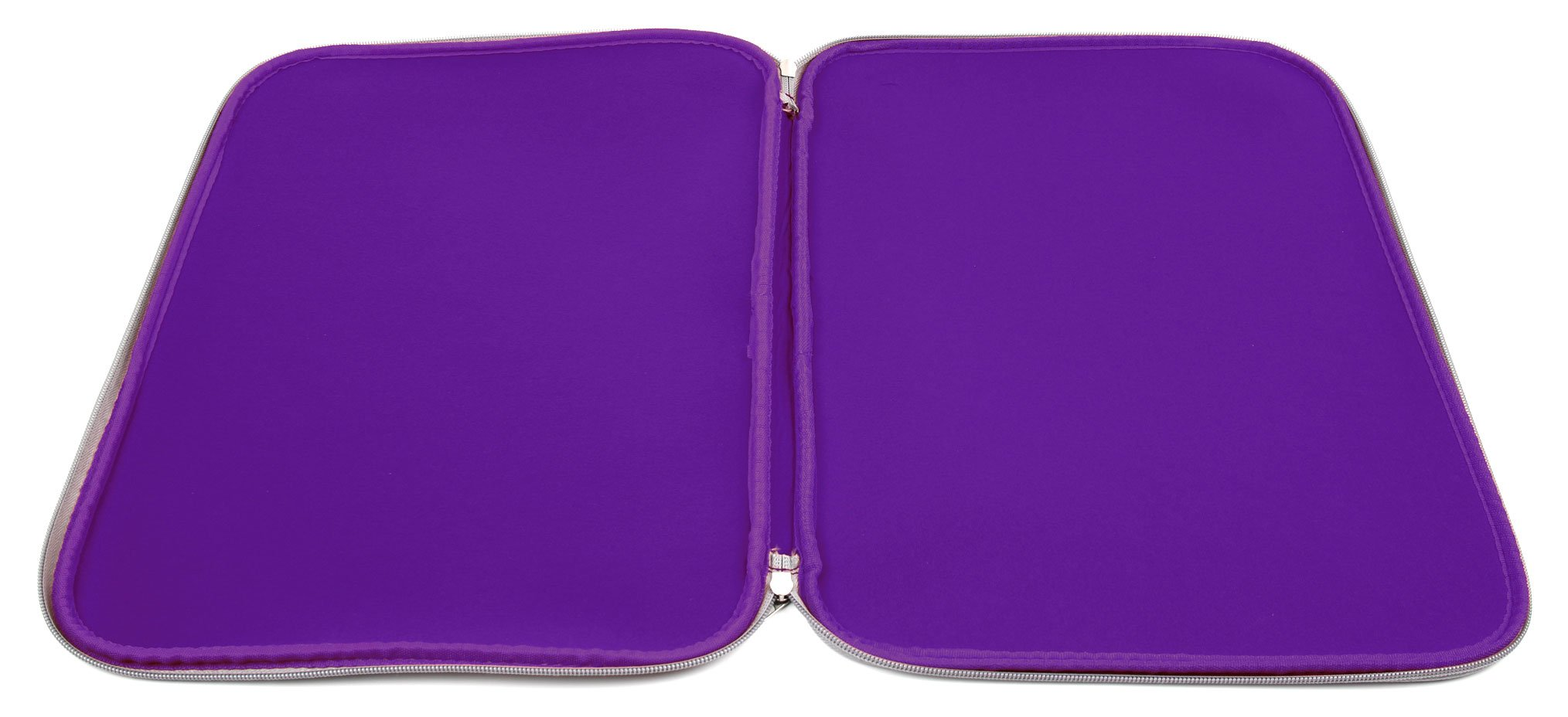 DURAGADGET Purple Travel Water Resistant & Shock Absorbent Neoprene Laptop Sleeve with Dual Zips Compatible with The Lenovo Ideapad 110 15'' | Ideapad 305 15.6'' Laptop by DURAGADGET (Image #5)