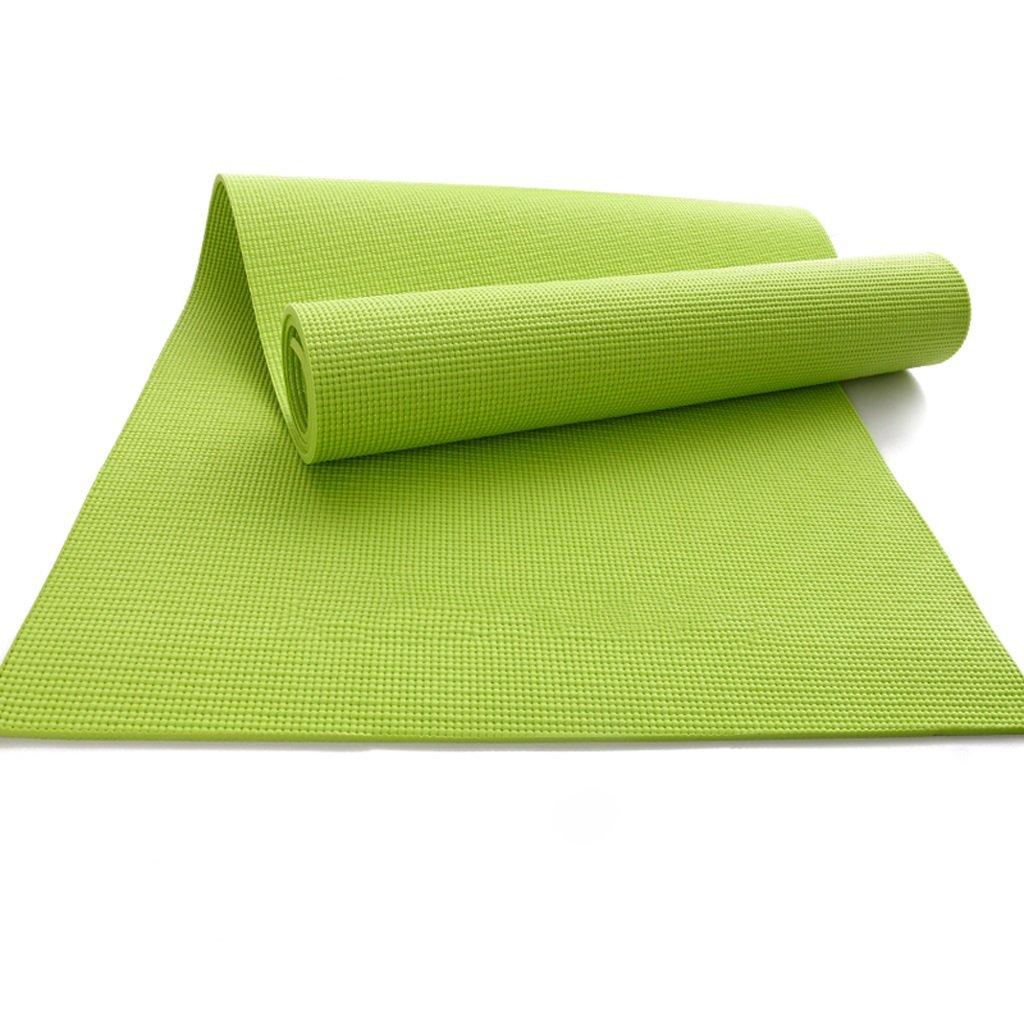 AILI Atmungsaktive Yoga-Matte, Anti-Rutsch-PVC tragbare Sport Fitness Outdoor männlichen und weiblichen Pads 8mm, Pilates