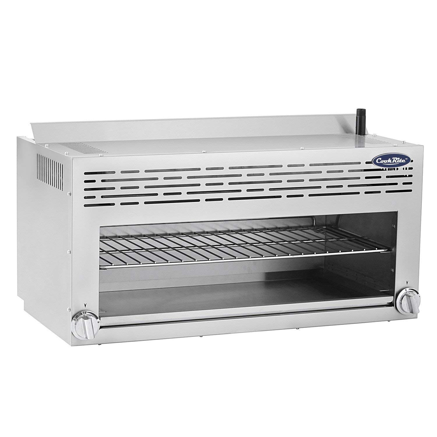 CookRite ATCM-36 Commercial Infrared Cheese Melter Natural Gas Countertop 36