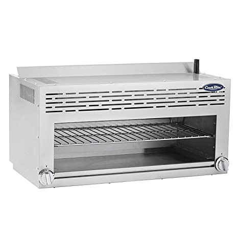 Amazon.com: CookRite ATCM-36 Commercial Infrared Cheese Melter Natural Gas Countertop 36