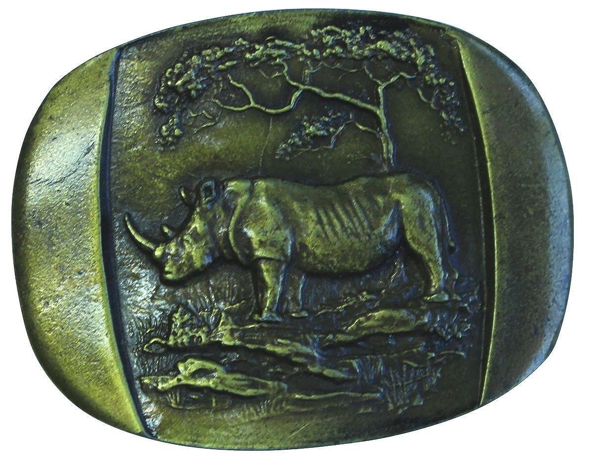 Brazil Lederwaren G/ürtelschlie/ße Two Lions 4,0 cm